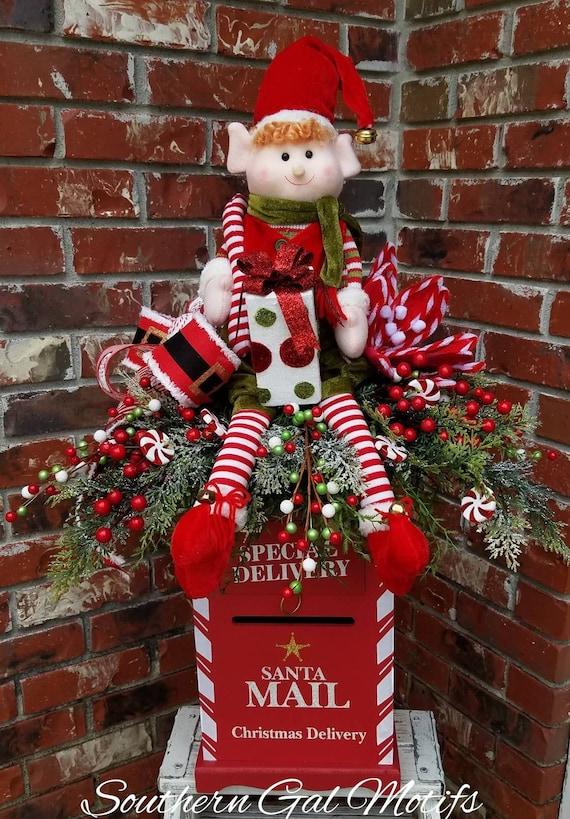 image 0 - Brick Mailbox Christmas Decorations
