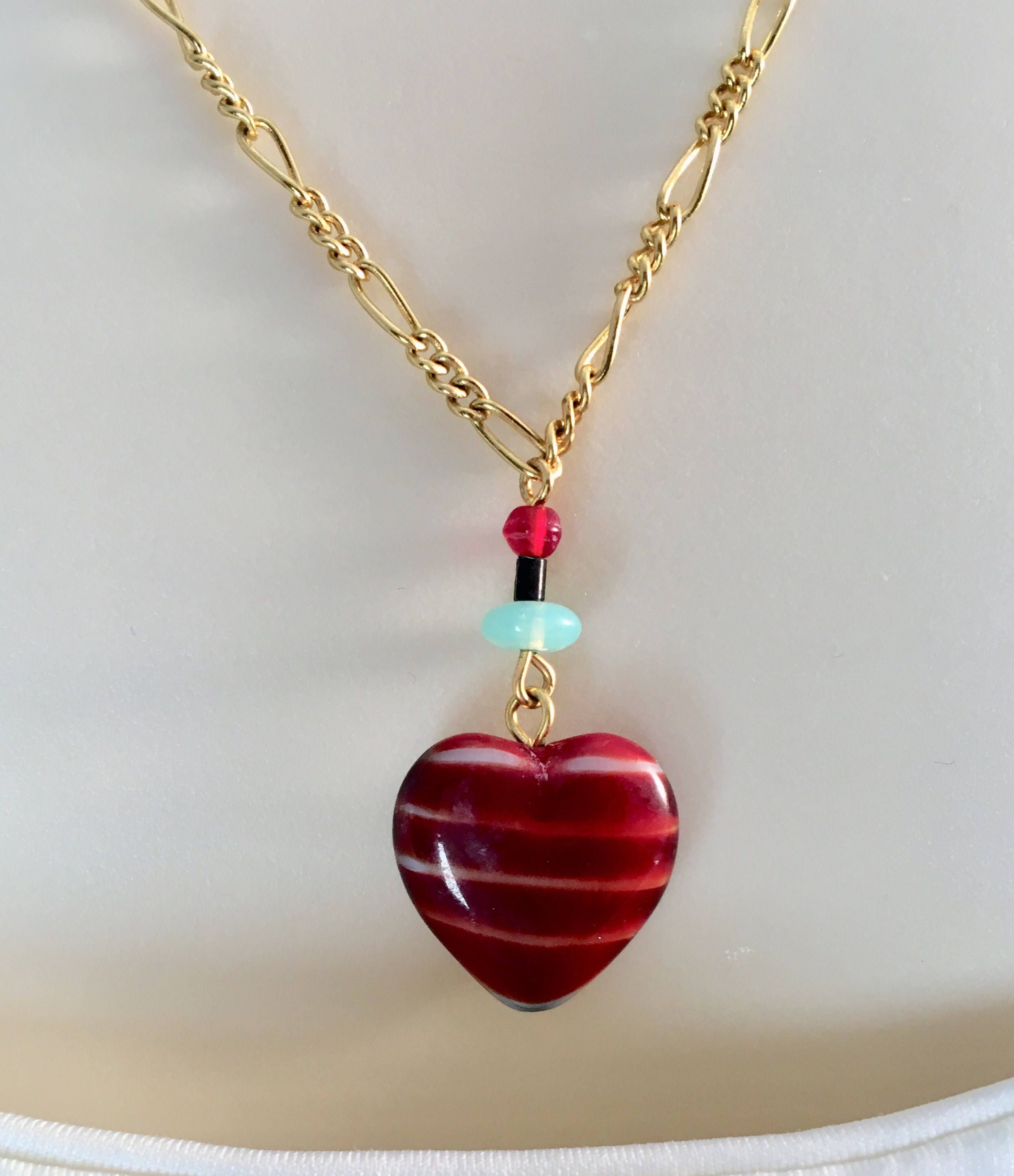 ruby pendant necklace jewelry brand gilt pave heart by red product jennifer meyer orig
