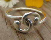 Sterling Silver Entwined ...