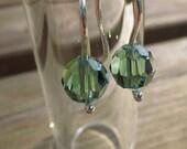 Crystal Drop Earrings, Sw...