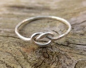 Sterling Silver Love Knot...