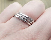 Faceted Stacking Rings, S...
