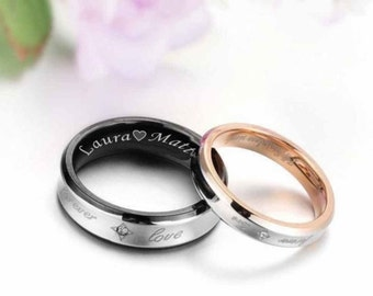 personalised rings for her