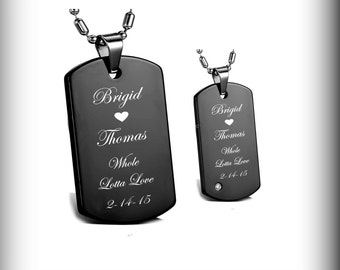 custom dog tags etsy