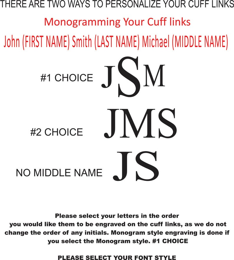 Wedding Favors Engraved Cufflinks Gold Cufflinks Buy 6 Get 7th Free Personalized Cufflinks Monogrammed Cufflinks Groomsmen Gifts