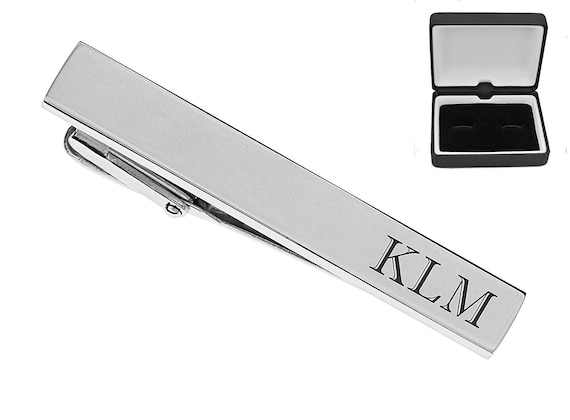 Buy 6 Wedding Accessories Personalized Tie Clip Silver High Polished Tie Clip Custom Engraved Free Get 7th Free Groomsman Gifts