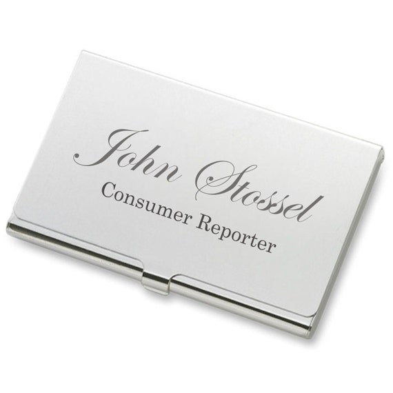 image 0 - Personalized Business Card Case