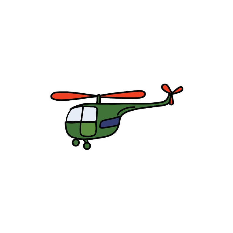 Helicopter SVG, Flying, Flight, Air Transport Svg, Transportation Svg, Hand  Drawn SVG File, Cutting File, Cut File, Commercial Use