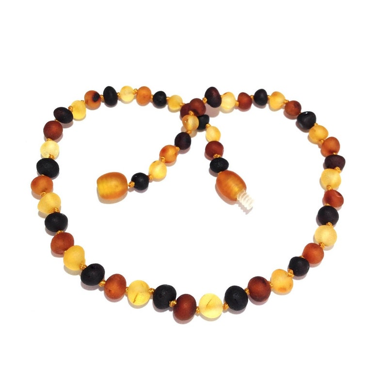 6166a24d8628f Amber Necklace Jewelry & Baby Teething Store, Raw Mixed Baltic Amber,  Genuine, Shingle, Love Amber, Child, Unpolished, Safety Knotted, Gift