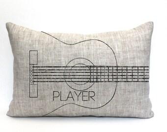 Guitar Pillow Etsy