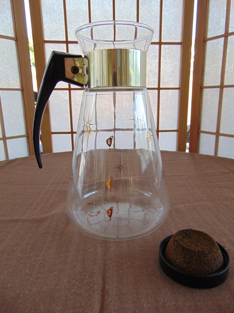 Corning Ware Starburst Six Cup Coffee Carafe