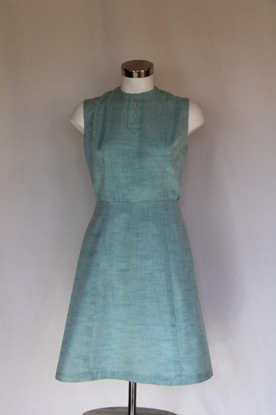 SALE*****Beautiful blue 1950's flared dress