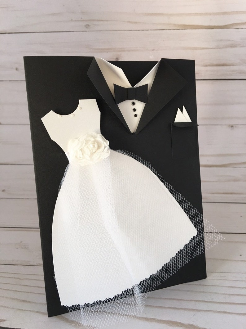 b5c2462027f36 Wedding Card Mr and Mrs Bride and Groom Congratulations