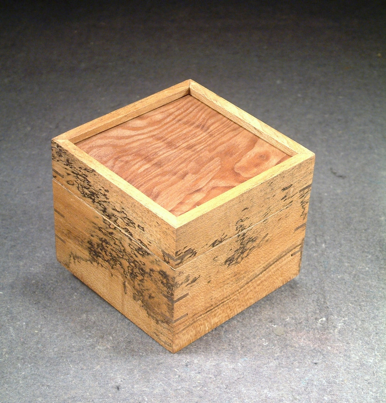 Myrtle Box with Redwood top. image 1