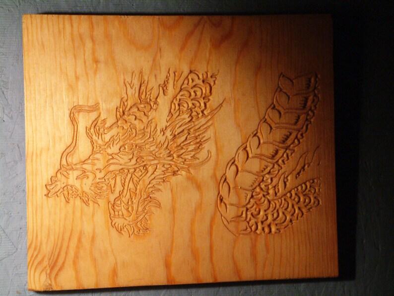 Dragon on Pine image 0