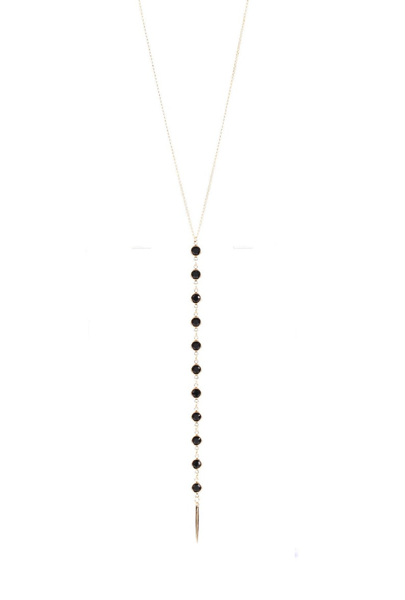 Handmade Dalia Gold Necklace
