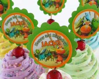 Fabulous Dinosaur Train Cake Etsy Personalised Birthday Cards Veneteletsinfo