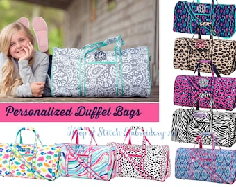 Carry On Monogrammed Llama Duffel Girls Toiletry Pouch Girls Overnight Bag Personalized Girls Duffel Bag Personalized Tote Bag