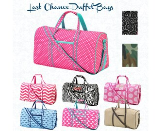 Pink duffle bag  8c156a92382ce