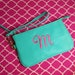 Anita Zegers reviewed Monogram Wristlet, Personalized Wristlet, Wristlet, Purple Wristlet, Cream Wristlet, Houndstooth Wristlet, Red Wristlet, Mint Wristlet
