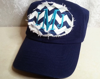 Women s Baseball Cap or Hat with Applique and Monogram for Wedding 8b625d935c0b