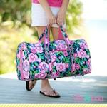 Girls Duffel Bag with Monogram, Personalized Duffel Bag, Monogram Duffle Bag, Girls Duffel Bag, Paisley Duffel, Mermaid Duffel,Marlee Duffel