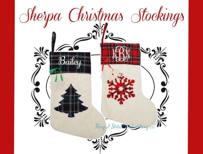 Christmas Stocking Monogram Stocking Monogram Christmas image 0