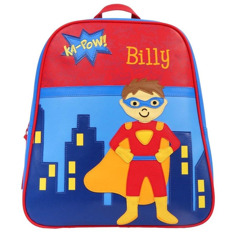 256aebf403f4 Superhero GO GO TODDLER Backpack Stephen Joseph® Toddler