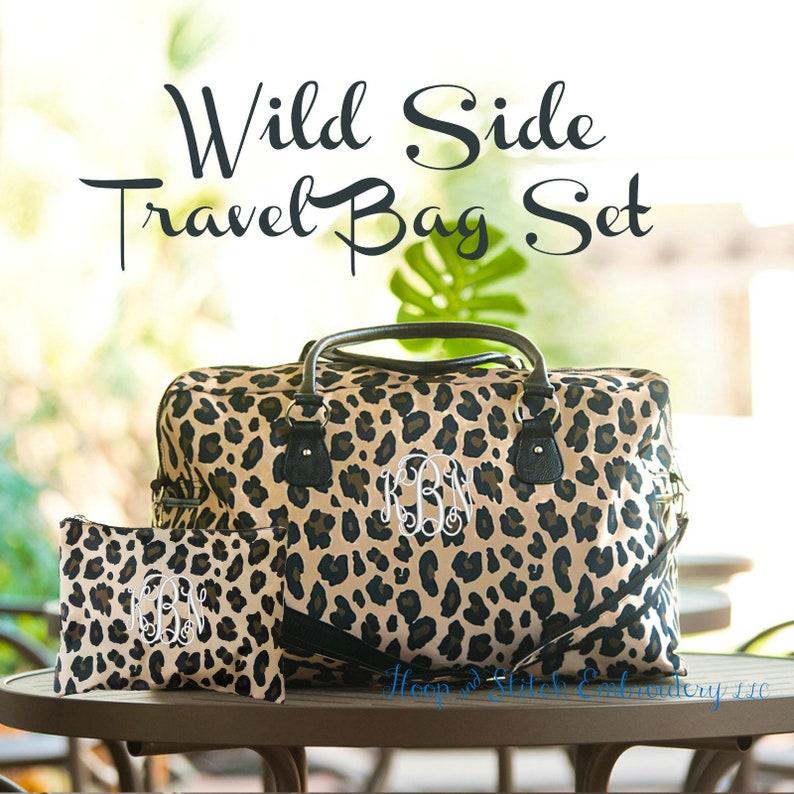 Wild Side Viv & Lou® Weekender Set Leopard Weekender Leopard image 0