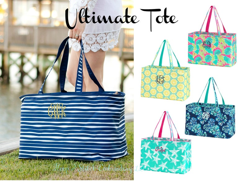 Ultimate Tote Summer with Monogram Ultimate Travel Tote with image 0