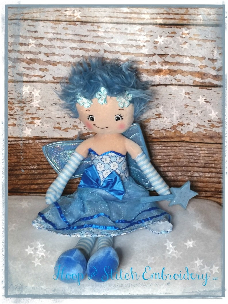 Personalized Fairy Doll Cubbies Rag Doll Personalized Doll image 0