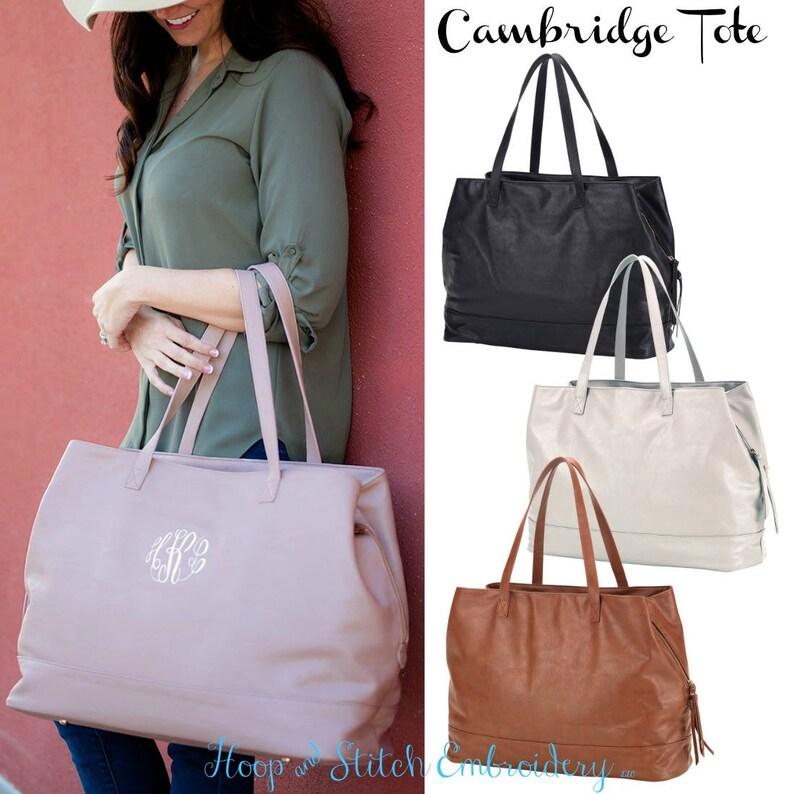 Cambridge Viv & Lou® Travel Bag Vegan Leather Travel Bag image 0