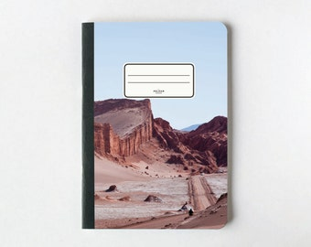 Rocky Mountain Notebook - Journal - Sketchbook - Blank pages - Lined pages