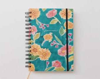 Planner - Florea Planner - Agenda - Diary - 12 Month Planner - 54 Weeks Agenda