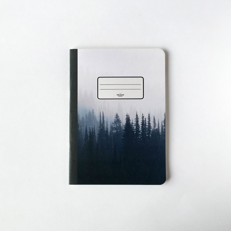 Pine Trees Notebook  Journal  Sketchbook  Blank pages  image 0