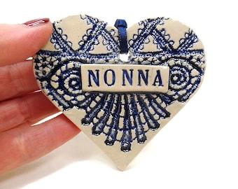 Nonna Ornament, Italian Grandmother,Christmas Ornament, Mother's Day Gift, Nonna Birthday, Grandmother Gift, Nonna Christmas, Tree Ornament