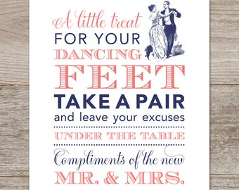 134514859141ba Flip Flop Sign Printable and Flip Flop Size Tags    Victorian Wedding Signs     Navy and Coral Wedding    Carnival Wedding Signs