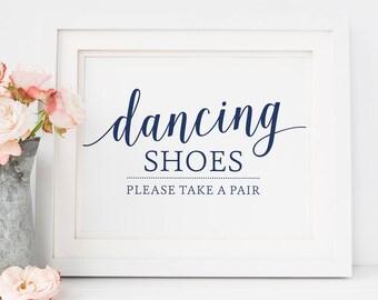 90346197d5476 Dancing Shoes Sign