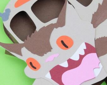 3D Paper Catbus Fan Art