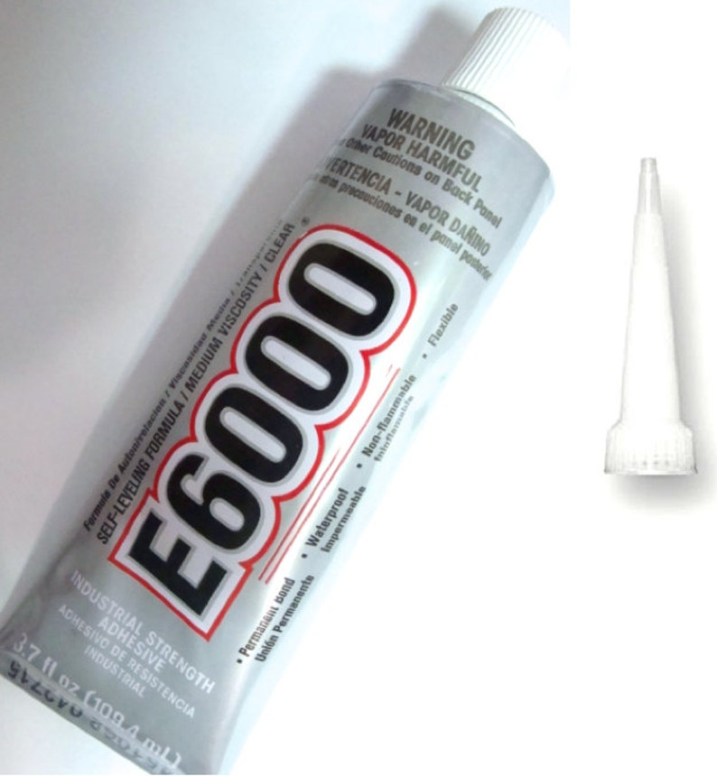 E6000 Adhesive with Applicator TIP Waterproof/Flexible Glue image 0