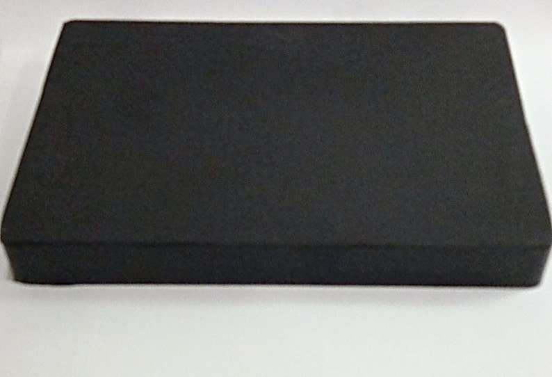 4x6x.75 Rubber Bench Block Dapping/Forming block Stamping image 0