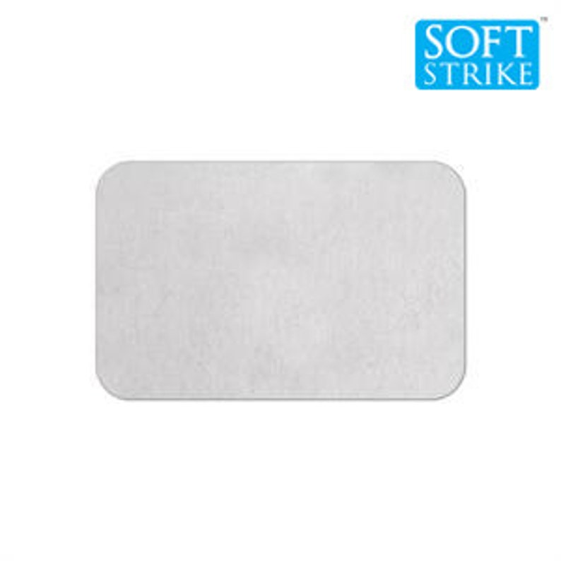 10 2 x 1 3/8 ALUMINUM Blank 50x35mm Aluminum blanks image 0