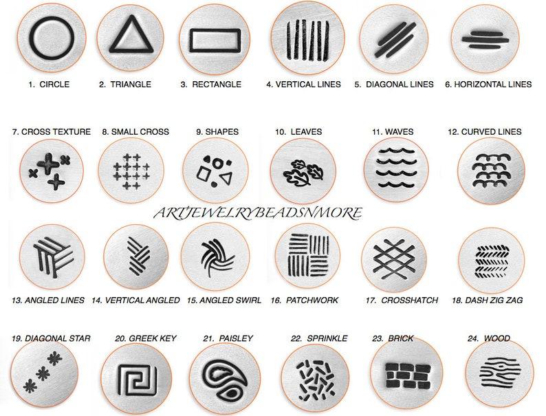 ImpressArt metal stamp Vertical Lines/ image 0
