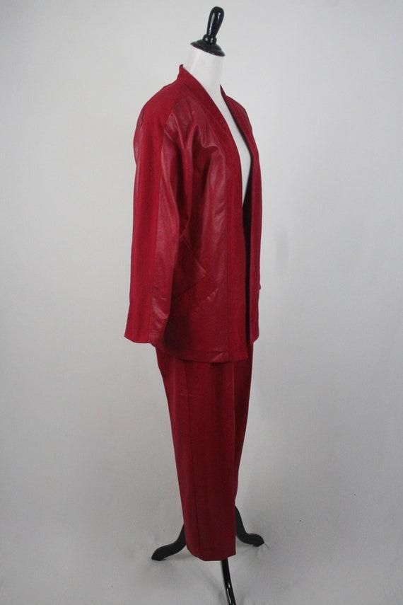 1980s Pants and Jacket Set City Girl Pant Suit - image 4