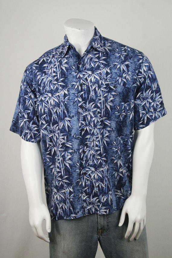 Vintage Aloha Shirt Rayon Puritan Shirt Medium - image 4