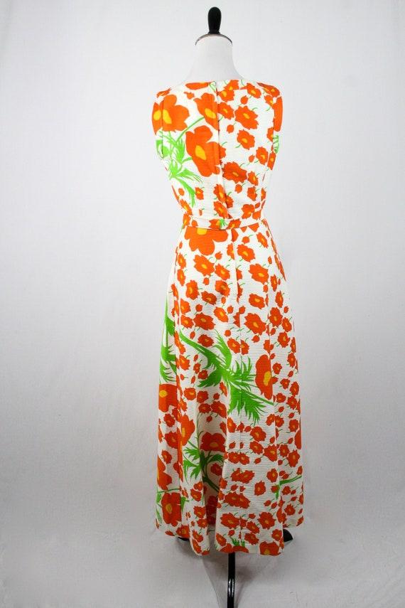 1970s Hawaiian Dress Maxi Dress by Malia Honolulu - image 7