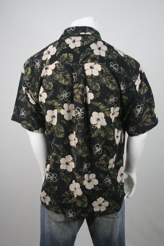 Vintage Aloha Shirt Rayon M.E. Sport Shirt XL - image 6