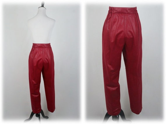 1980s Pants and Jacket Set City Girl Pant Suit - image 9