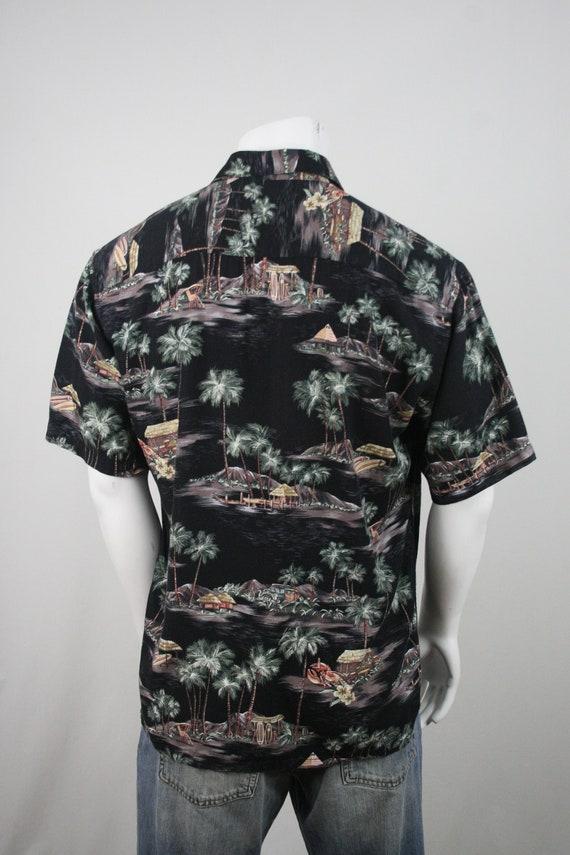 Vintage Aloha Shirt Rayon Moda Campia Moda Shirt … - image 6