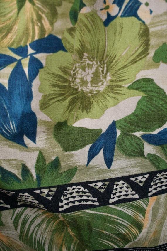 Vintage Aloha Shirt M.E. Sport Rayon Shirt Large - image 8